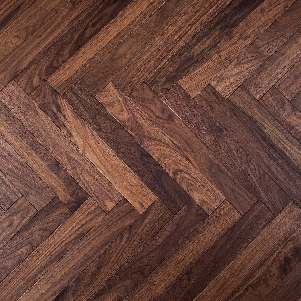 Step In Time Engineered Wood Herringbone Parquet Flooring